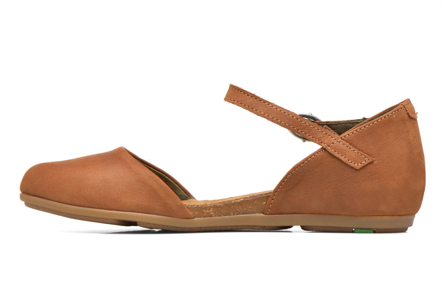 Ballerines El Naturalista Stella ND54 Marron vue face