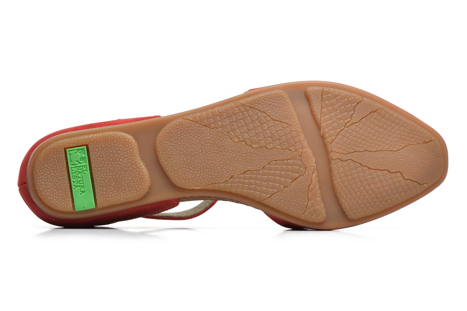 Ballet pumps El Naturalista Stella ND54 Red view from above
