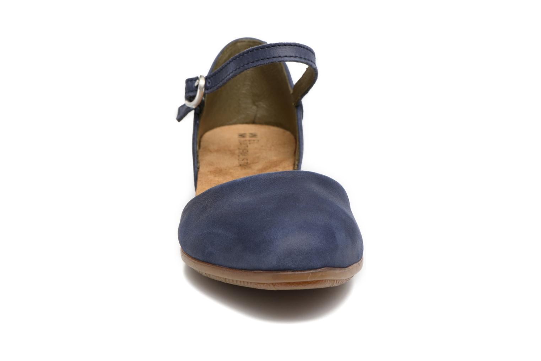 Ballerines El Naturalista Stella ND54 Bleu vue portées chaussures