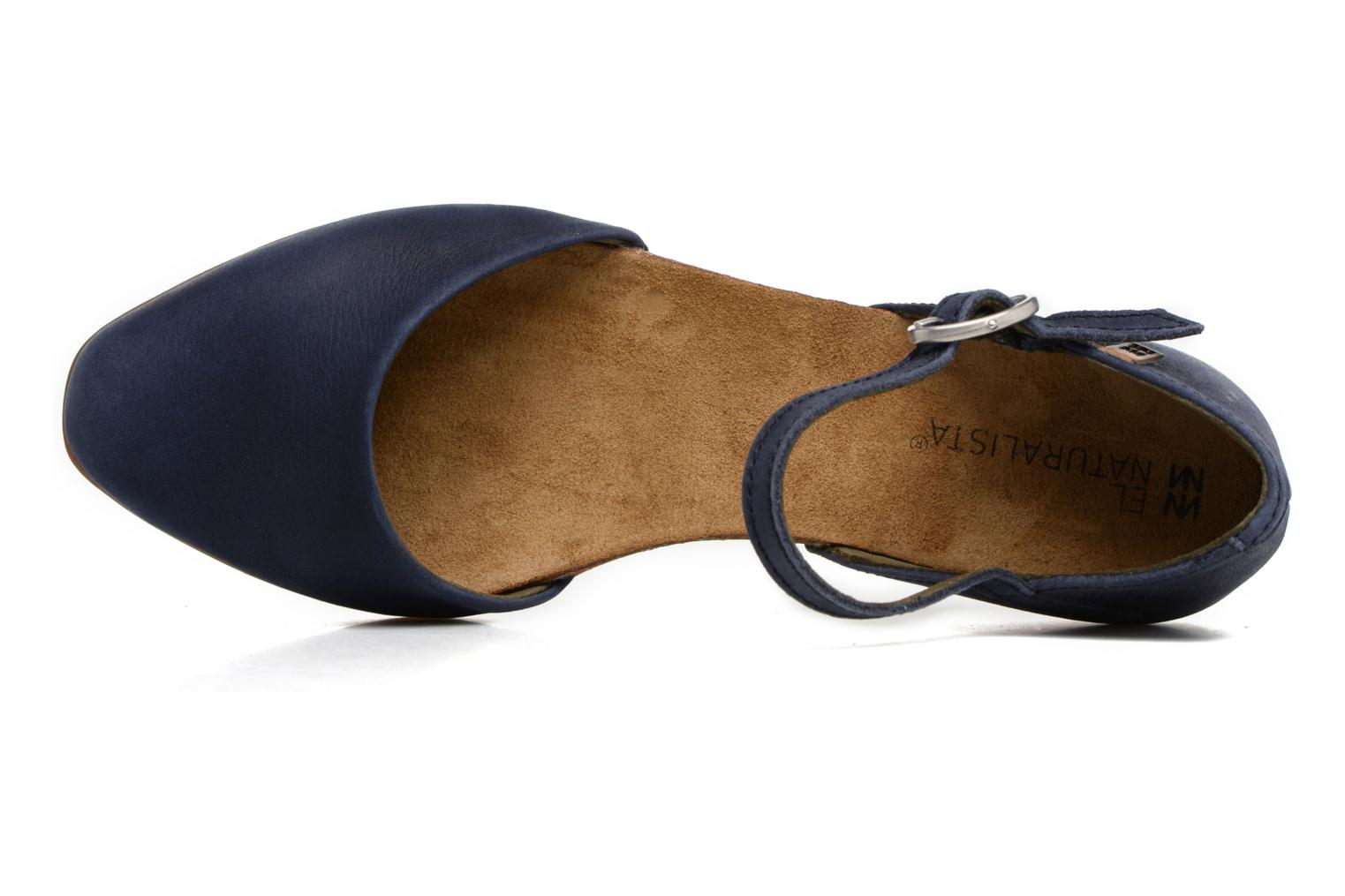 Ballerinas El Naturalista Stella ND54 blau ansicht von links
