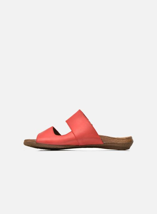 Mules & clogs El Naturalista Wakataua ND75 Red front view