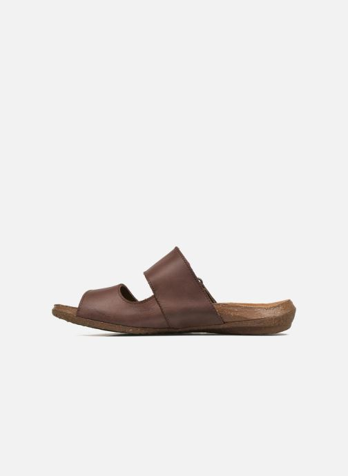 Mules & clogs El Naturalista Wakataua ND75 Brown front view