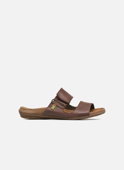 Mules & clogs El Naturalista Wakataua ND75 Brown back view