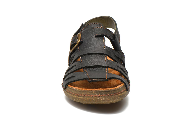 Sandals El Naturalista Torcal N337 Black model view