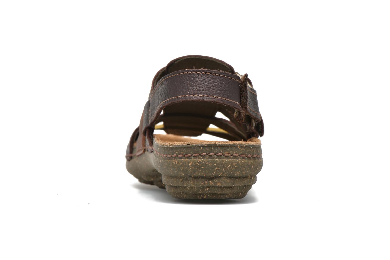 Sandales et nu-pieds El Naturalista Torcal N337 Marron vue droite