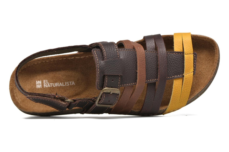 Sandales et nu-pieds El Naturalista Torcal N337 Marron vue gauche