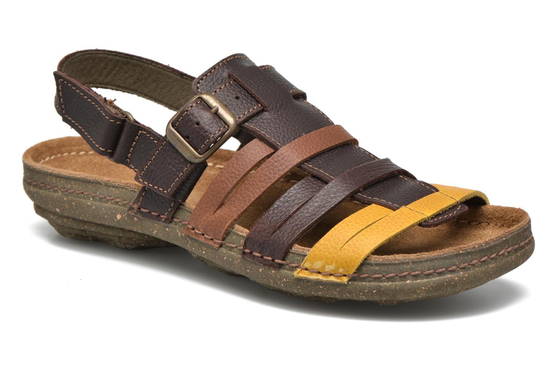Sandales et nu-pieds El Naturalista Torcal N337 Marron vue détail/paire