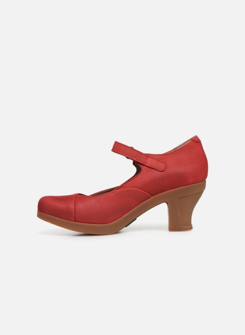 High heels El Naturalista Espiral N588 Red front view