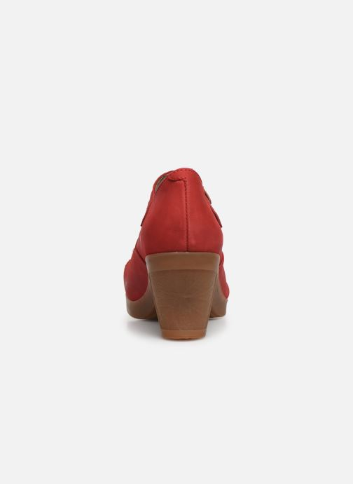 High heels El Naturalista Espiral N588 Red view from the right
