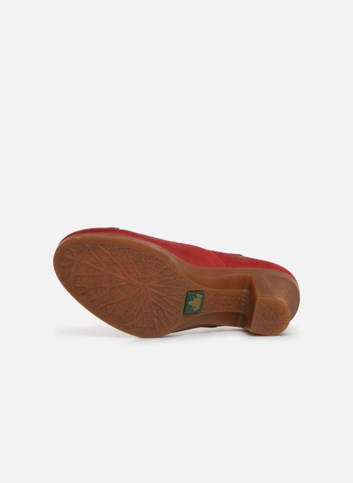 High heels El Naturalista Espiral N588 Red view from above