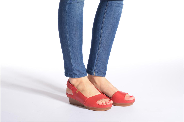 Sandales et nu-pieds El Naturalista Code ND25 Rouge vue bas / vue portée sac