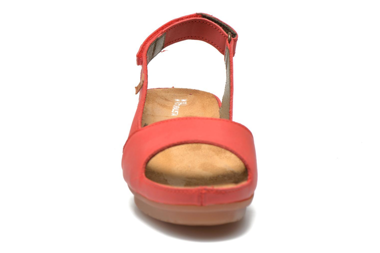 Sandales et nu-pieds El Naturalista Code ND25 Rouge vue portées chaussures