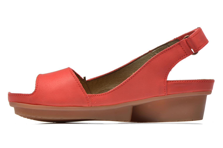 Sandales et nu-pieds El Naturalista Code ND25 Rouge vue face