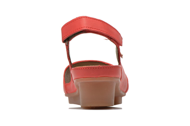Sandales et nu-pieds El Naturalista Code ND25 Rouge vue droite