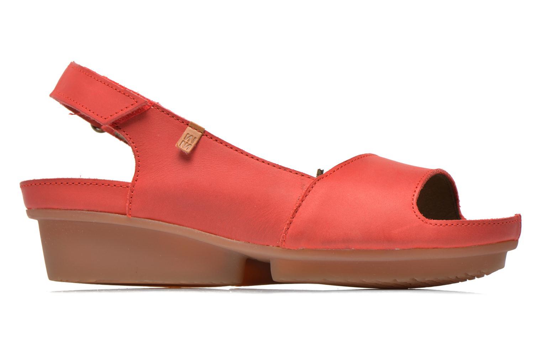 Sandales et nu-pieds El Naturalista Code ND25 Rouge vue derrière