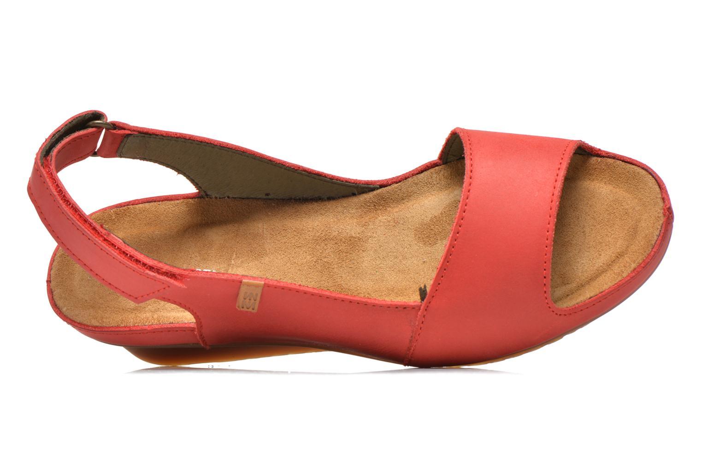 Sandales et nu-pieds El Naturalista Code ND25 Rouge vue gauche