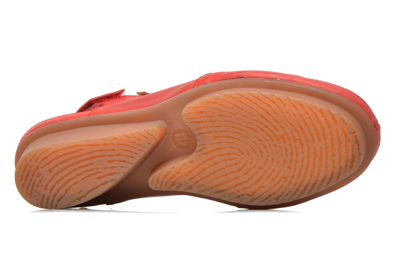 Sandales et nu-pieds El Naturalista Code ND25 Rouge vue haut