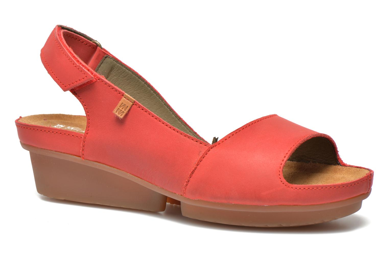 Sandales et nu-pieds El Naturalista Code ND25 Rouge vue détail/paire
