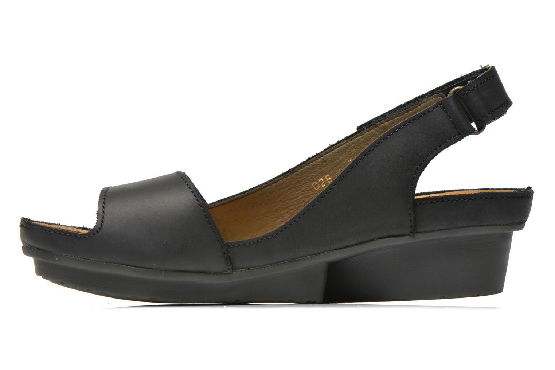 Sandales et nu-pieds El Naturalista Code ND25 Noir vue face