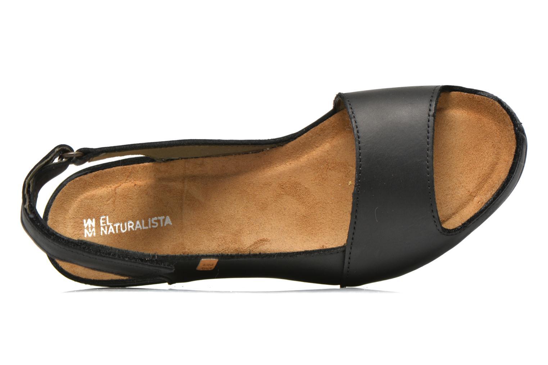 Sandales et nu-pieds El Naturalista Code ND25 Noir vue gauche