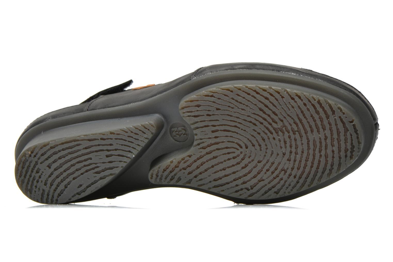 Sandales et nu-pieds El Naturalista Code ND25 Noir vue haut