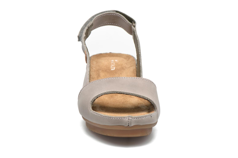 Sandales et nu-pieds El Naturalista Code ND25 Gris vue portées chaussures