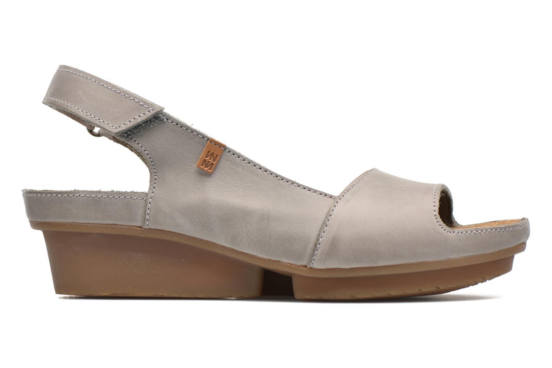 Sandales et nu-pieds El Naturalista Code ND25 Gris vue derrière