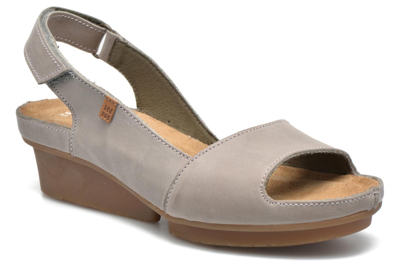 Sandales et nu-pieds El Naturalista Code ND25 Gris vue détail/paire