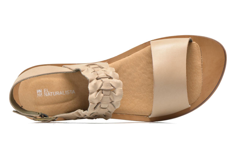 Sandales et nu-pieds El Naturalista Tulip NF31 Beige vue gauche