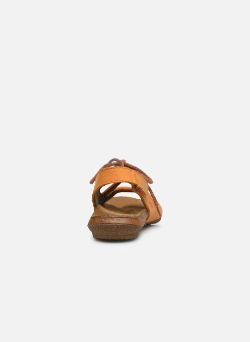 Sandales et nu-pieds El Naturalista Wakataua ND73 Orange vue droite