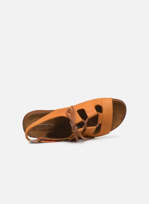 Sandales et nu-pieds El Naturalista Wakataua ND73 Orange vue gauche