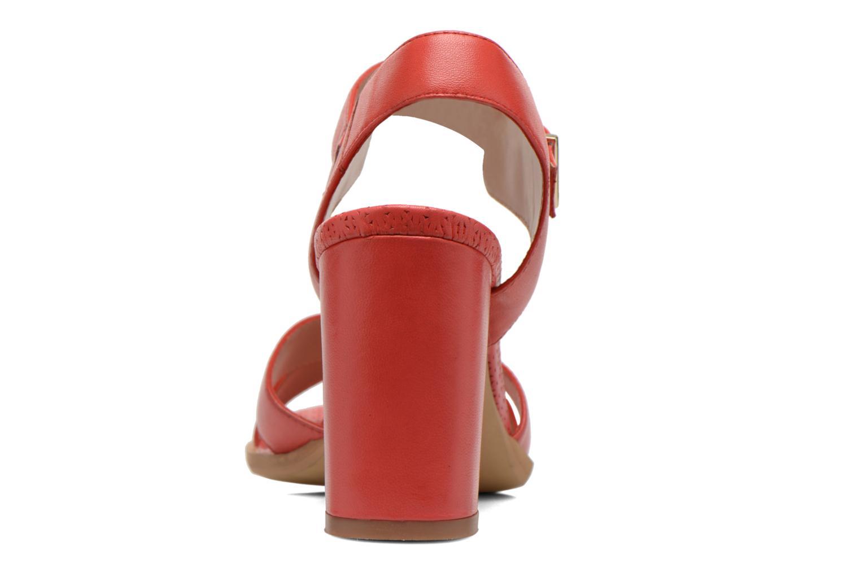 Sandales et nu-pieds Bruno Premi Mojo Rouge vue droite