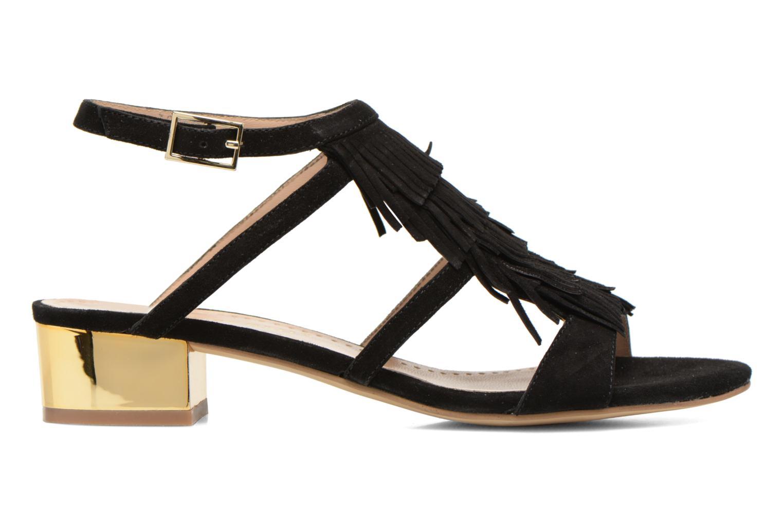 Sandales et nu-pieds Bruno Premi Vogy Noir vue derrière