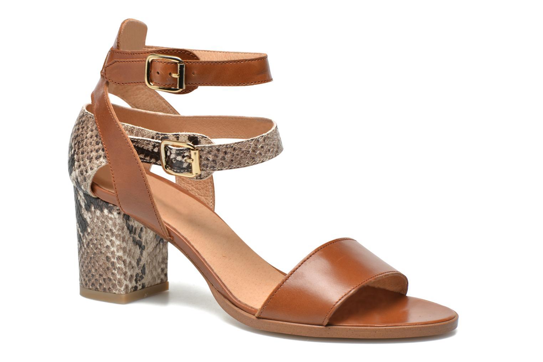 Sandales et nu-pieds Made by SARENZA Discow Girl #3 Marron vue face