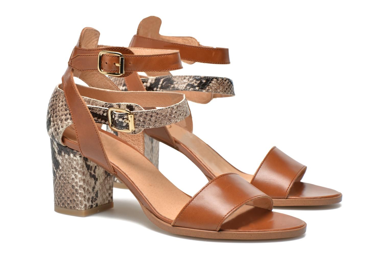 Sandales et nu-pieds Made by SARENZA Discow Girl #3 Marron vue droite