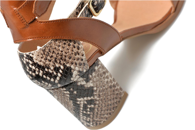 Sandales et nu-pieds Made by SARENZA Discow Girl #3 Marron vue derrière