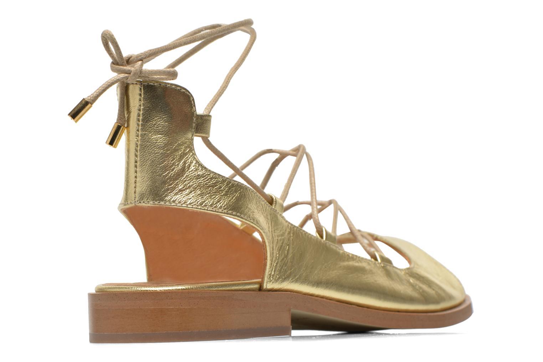 Sandales et nu-pieds Made by SARENZA Discow Girl #4 Or et bronze vue portées chaussures