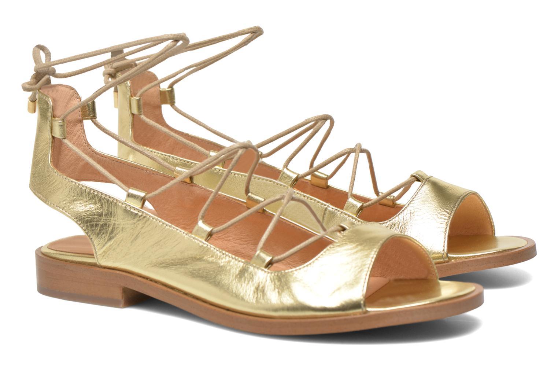 Sandales et nu-pieds Made by SARENZA Discow Girl #4 Or et bronze vue droite