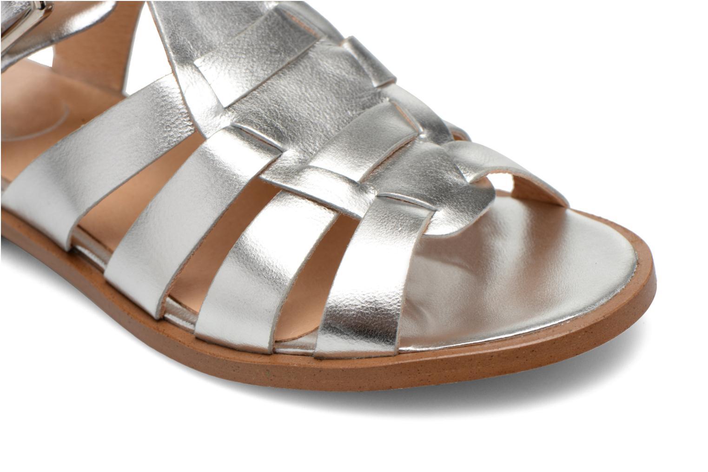 Sandales et nu-pieds Made by SARENZA Menthe Hello #1 Argent vue gauche