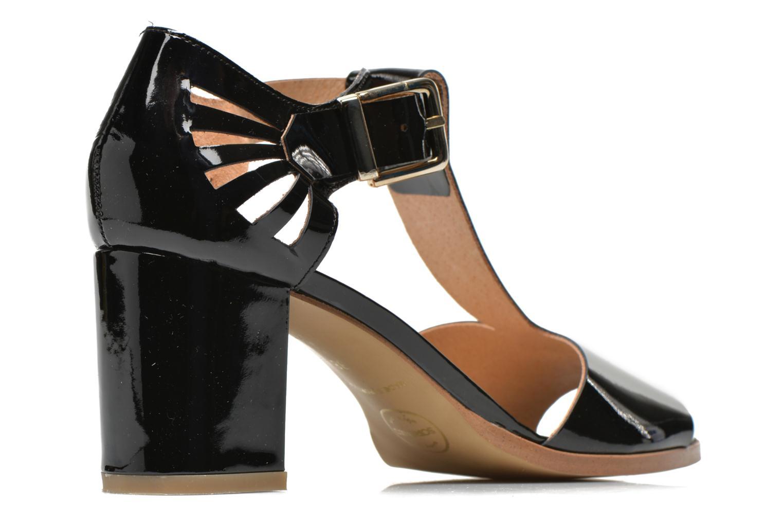 Sandales et nu-pieds Made by SARENZA Square Simone#4 Noir vue portées chaussures