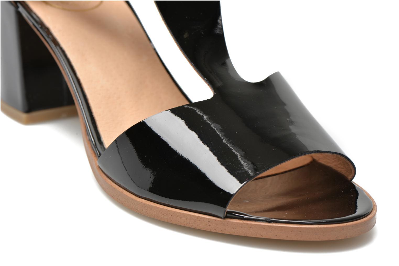 Sandales et nu-pieds Made by SARENZA Square Simone#4 Noir vue derrière