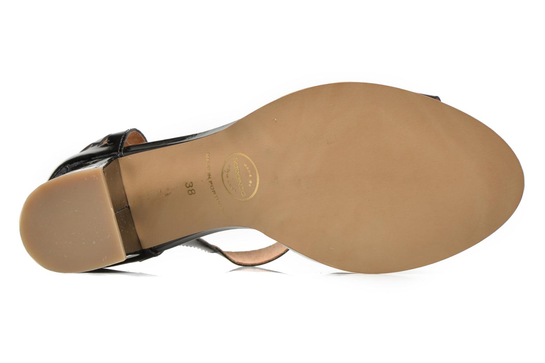 Sandales et nu-pieds Made by SARENZA Square Simone#4 Noir vue gauche