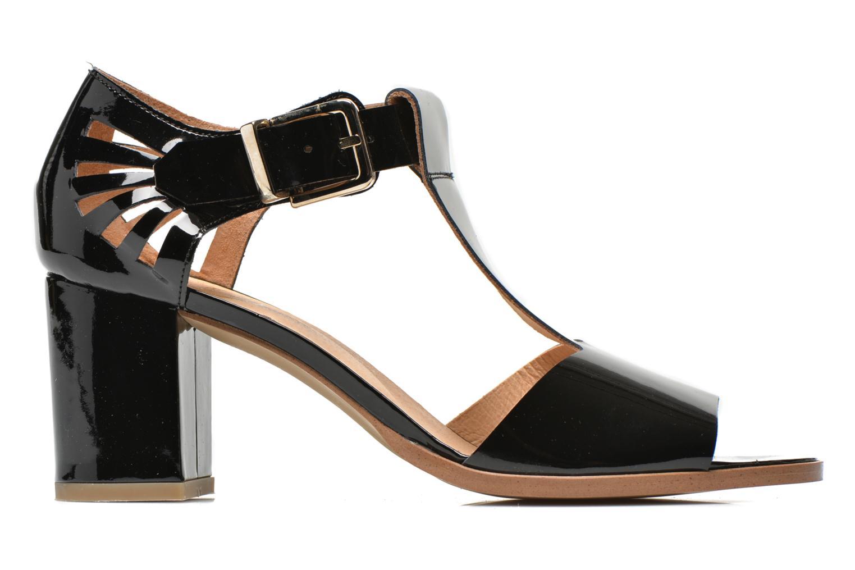 Sandales et nu-pieds Made by SARENZA Square Simone#4 Noir vue détail/paire
