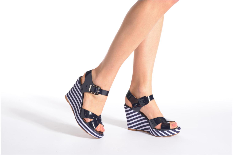 Sandalias Made by SARENZA Menthe Hello #15 Azul vista de abajo