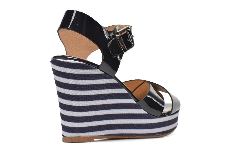 Sandalias Made by SARENZA Menthe Hello #15 Azul vista del modelo