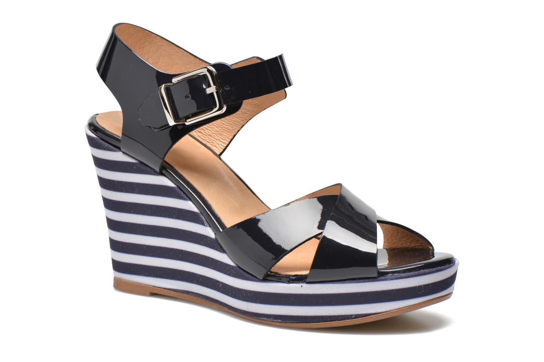 Sandalias Made by SARENZA Menthe Hello #15 Azul vista de frente