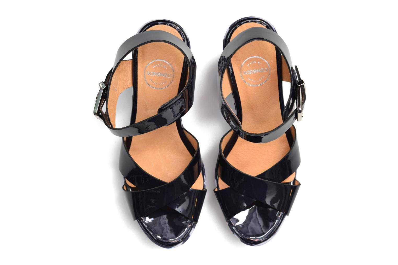 Sandalias Made by SARENZA Menthe Hello #15 Azul vista de arriba