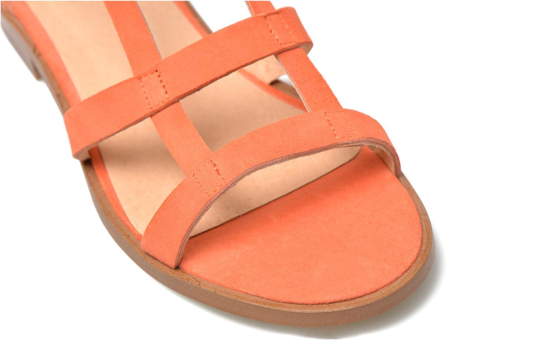 Sandales et nu-pieds Made by SARENZA Square Simone#6 Orange vue derrière
