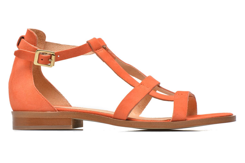 Sandales et nu-pieds Made by SARENZA Square Simone#6 Orange vue détail/paire