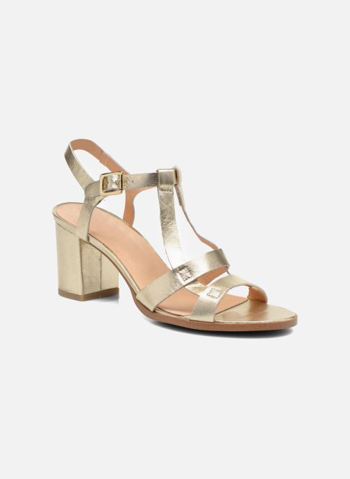 MADE BY SARENZA Femme Square Simone #5 Cuir Or et bronze